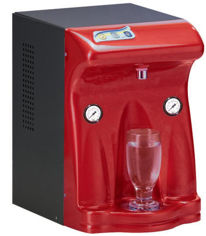 depuratore acqua temperatura ambiente, fredda e firzzante
